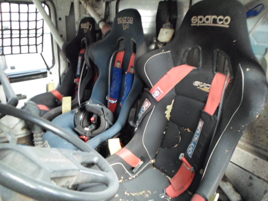 Mercedes Rally Truck Mercedes V8  4X4