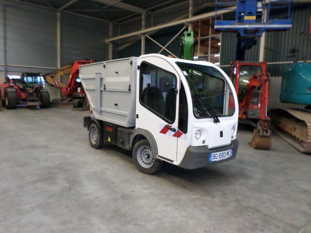 Goupil electrische kiepwagen