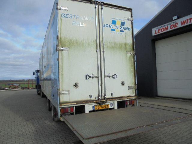 PACTON 2 as semi dieplader box laadklep