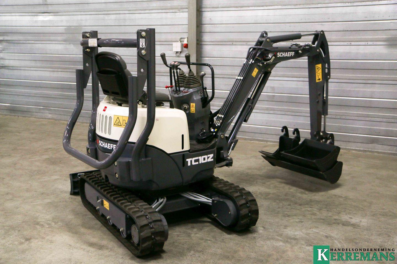 Schaeff / Yanmar TC08/TC10Z minigraver