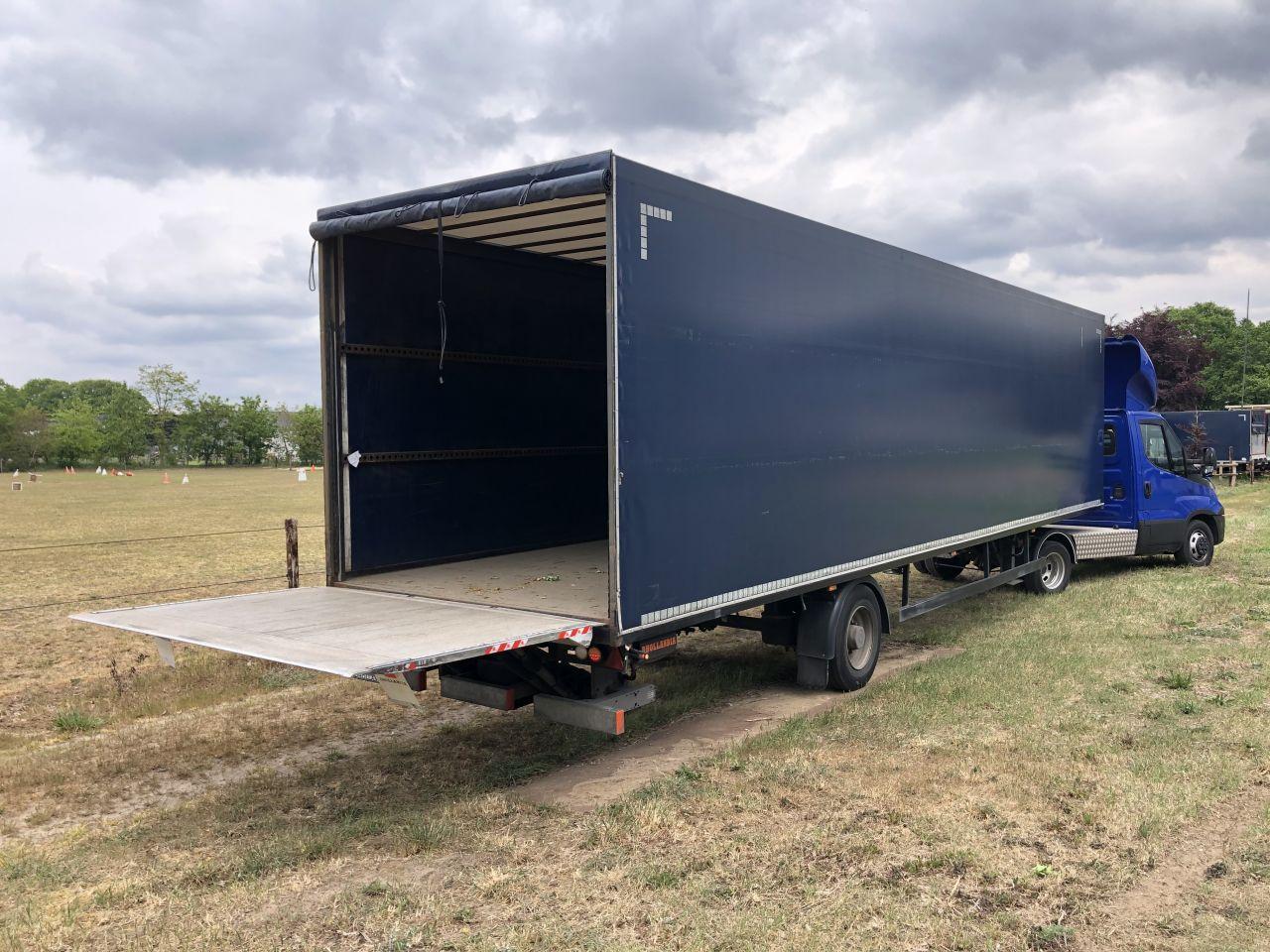 Draf 7000 kg Be oplegger 7 T Draf huifzeilen