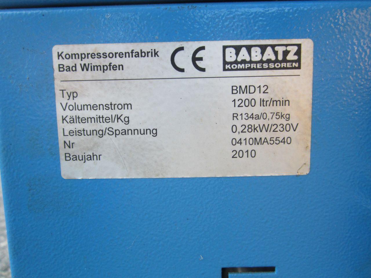 Babatz BMD12