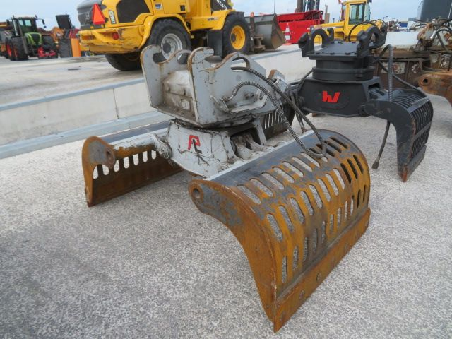 Sorteergrijper 700ltr CW30/40, strakke grijper