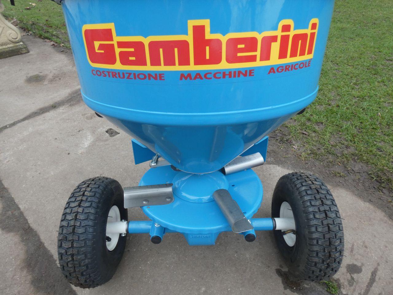 GAMBERINI zoutstrooier (type F80 (duwmodel), 32 liter)