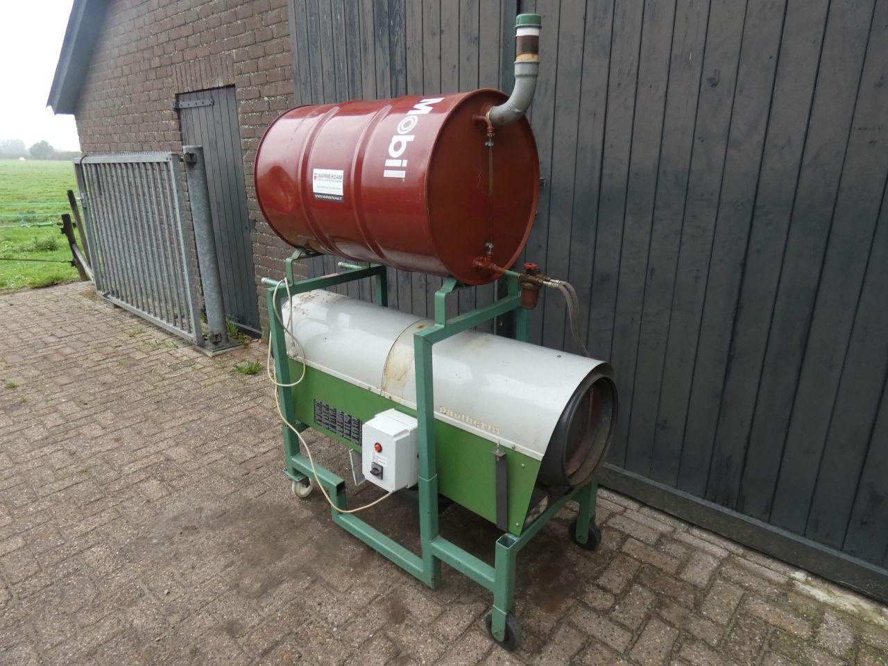 KONGSKILDE heater (type TAS-80C (80 kW (80.000 kCal/uur))