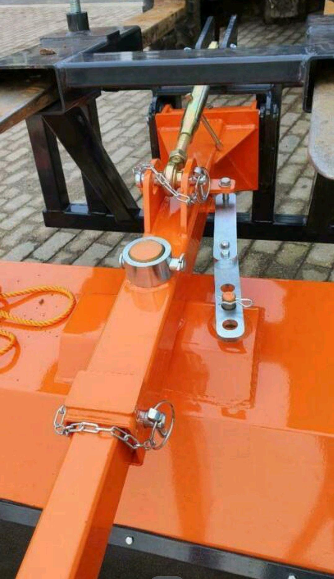 Veegmachine voor heftruck / shovel / tractor
