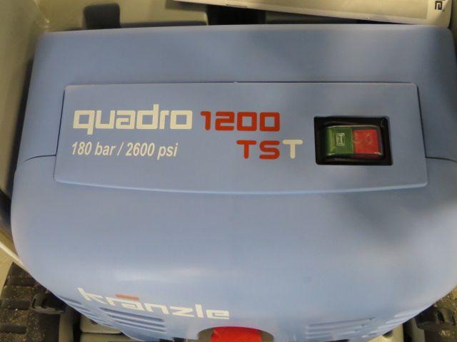 Kranzle Quadro 1200 tst hogedrukreiniger, bj 2020, 380V aansluit