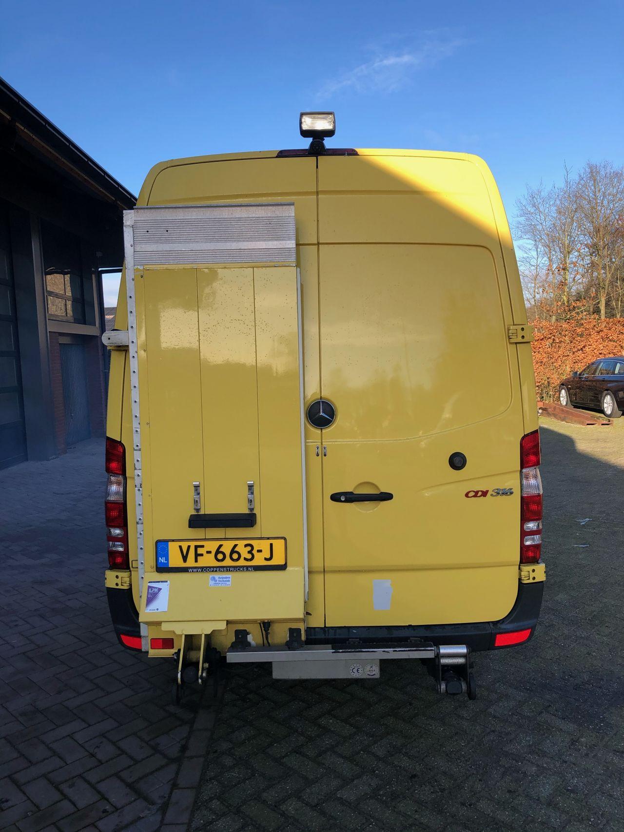 Mercedes sprinter 316 CDI koeling transport carrier xarios