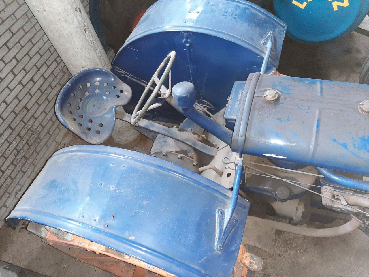 Fordson oltimer tractor