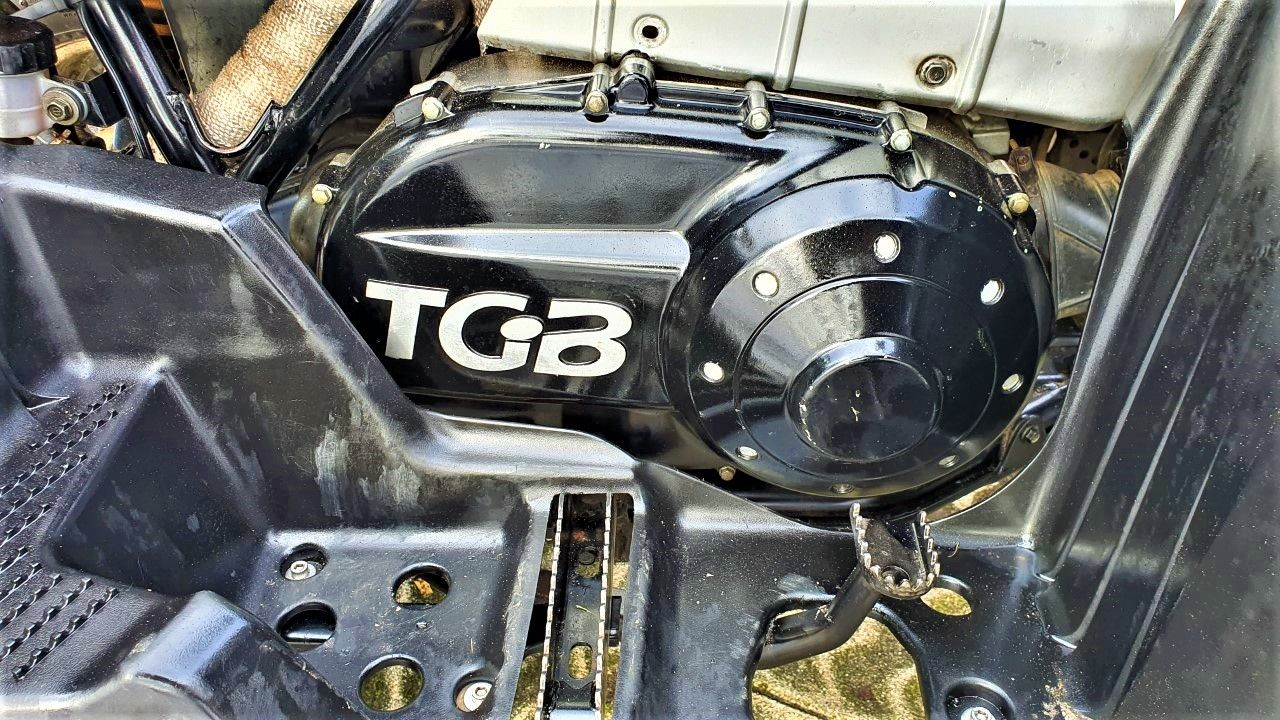 TGB FBE TARGET 500CC AUTOMAAT QUAD MET KENTEKEN 2010