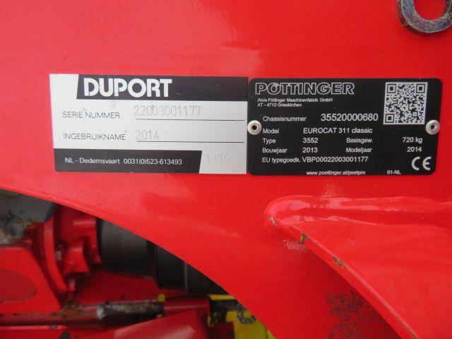 Pottinger Eurocat 315 Classic BJ 2014
