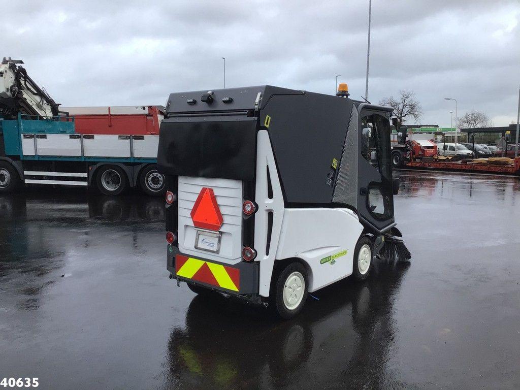 Green machine GM500H2 Hydrogen Waterstof Sweeper
