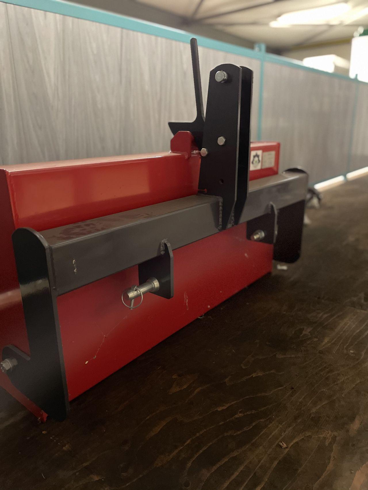 Grondbak / transportbak voor compact tractor