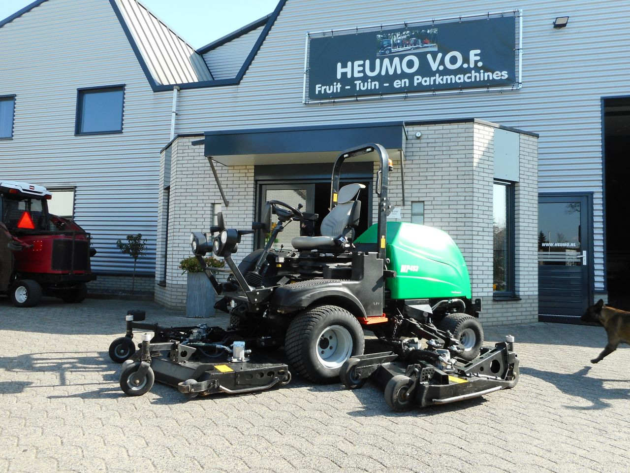 Ransomes MP 493 bj,2016