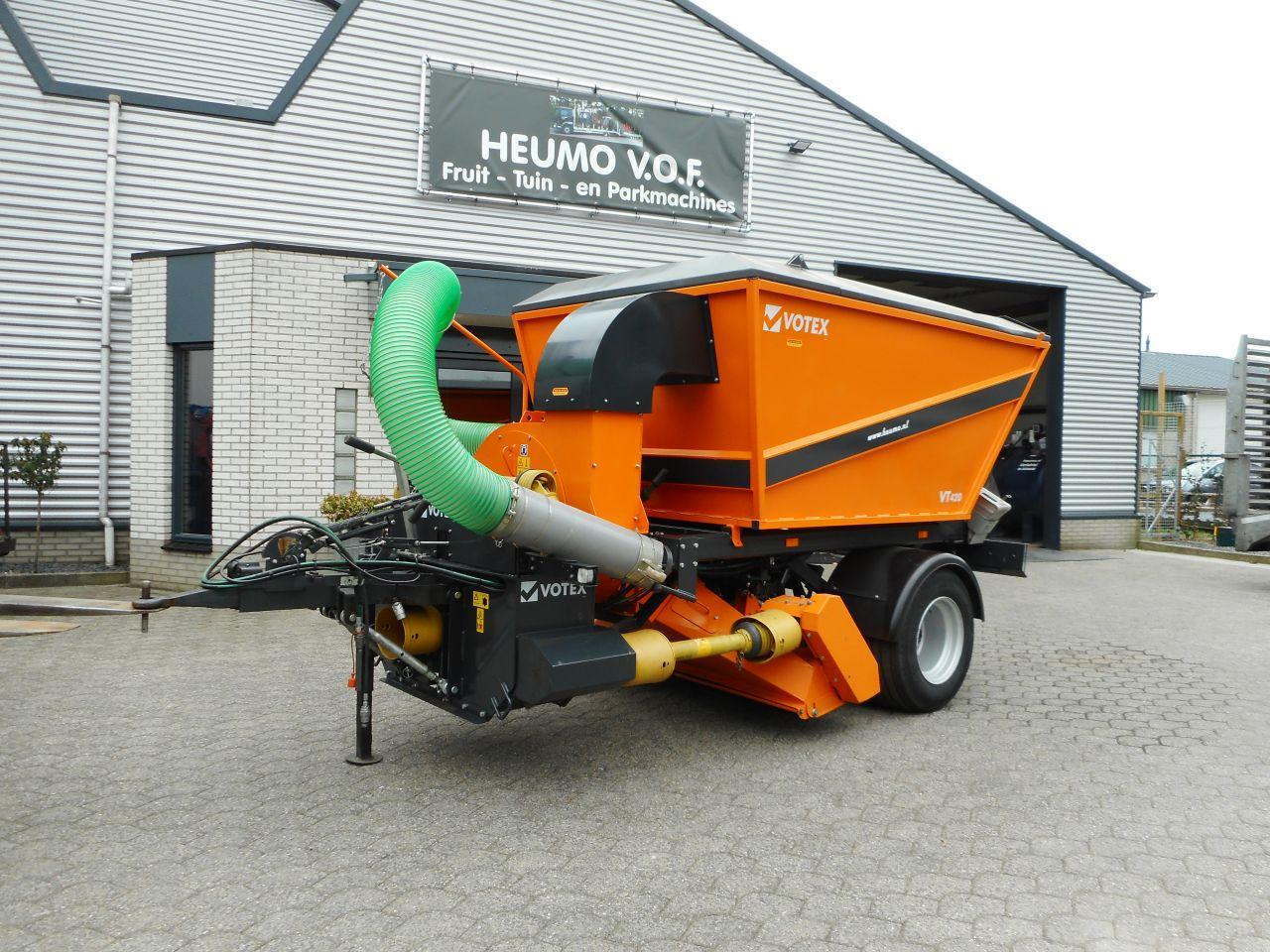 Votex VT420 bladzuigwagen DEMO