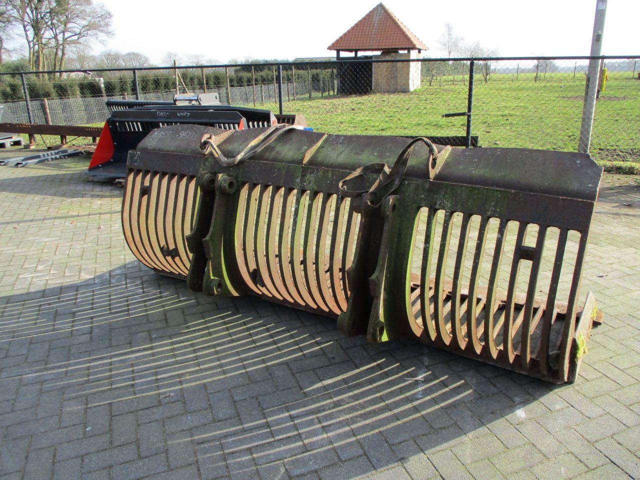 Puinbak puinbakken 260 cm en 290 cm breed 50 mm spijlen