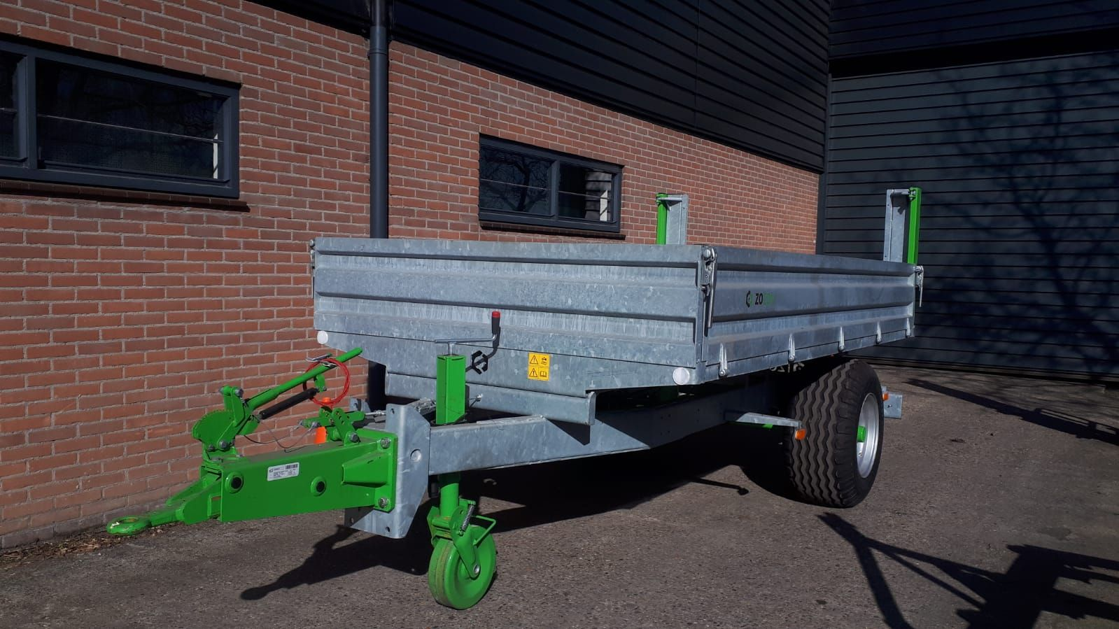 Zocon kiepwagen 4.5 ton
