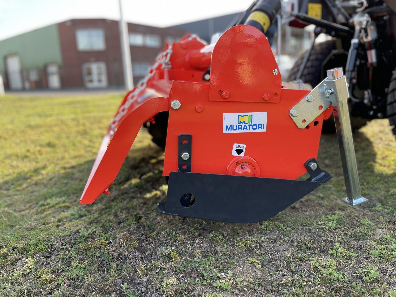 Muratori MZ4 125 zware grondfrees compact tractor