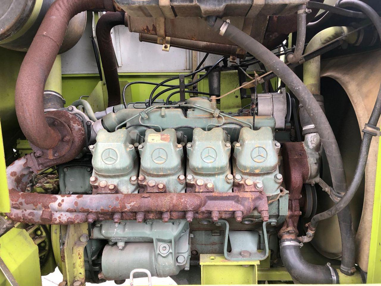 Claas Jaguar 695 MEGA