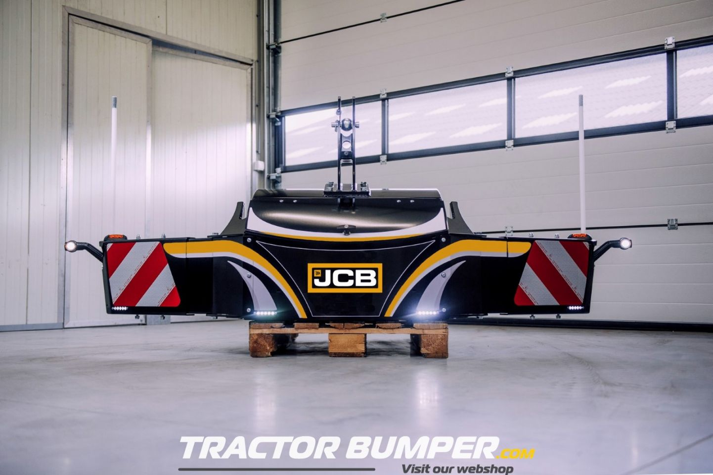 Trekker bumper JCB frontgewicht