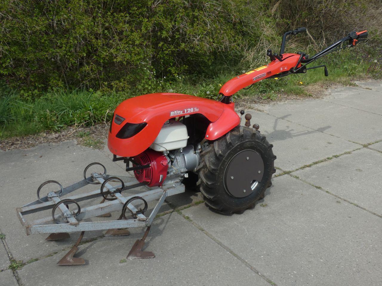 VALPADANA tuinfrees (type BLITZ REV 120, Honda GX motor)