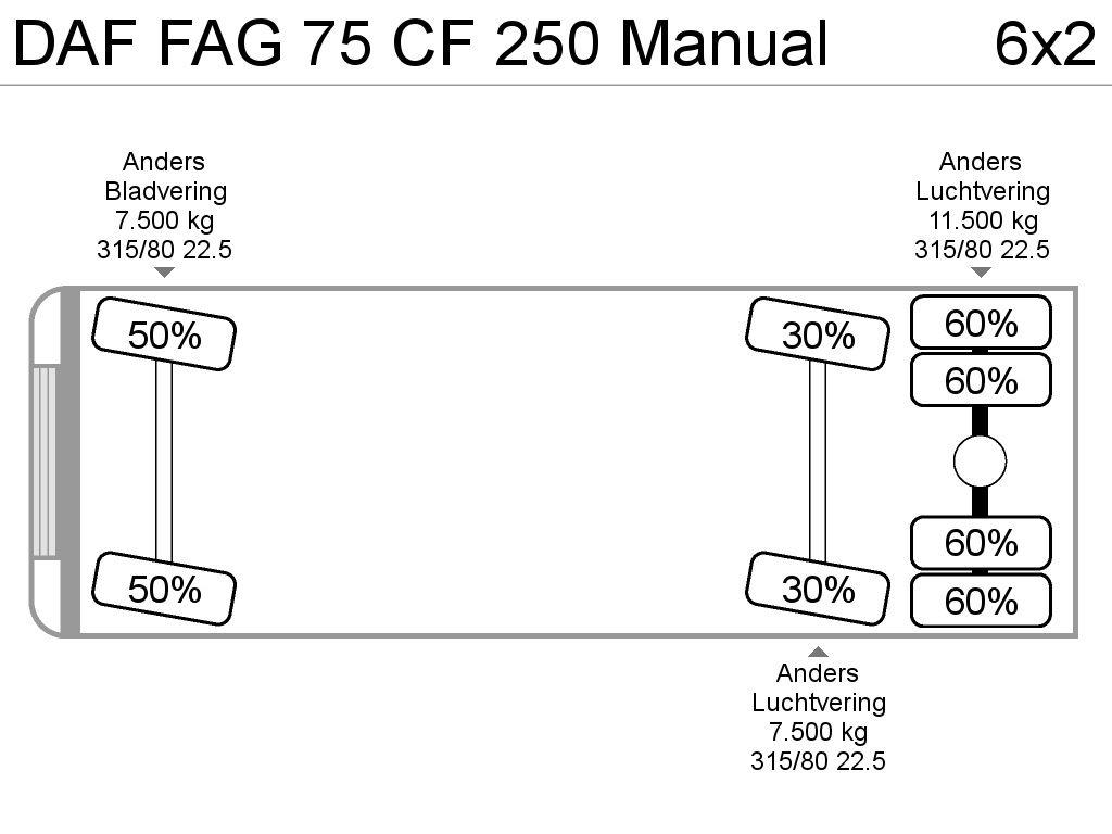 DAF FAG 75 CF 250 Manual