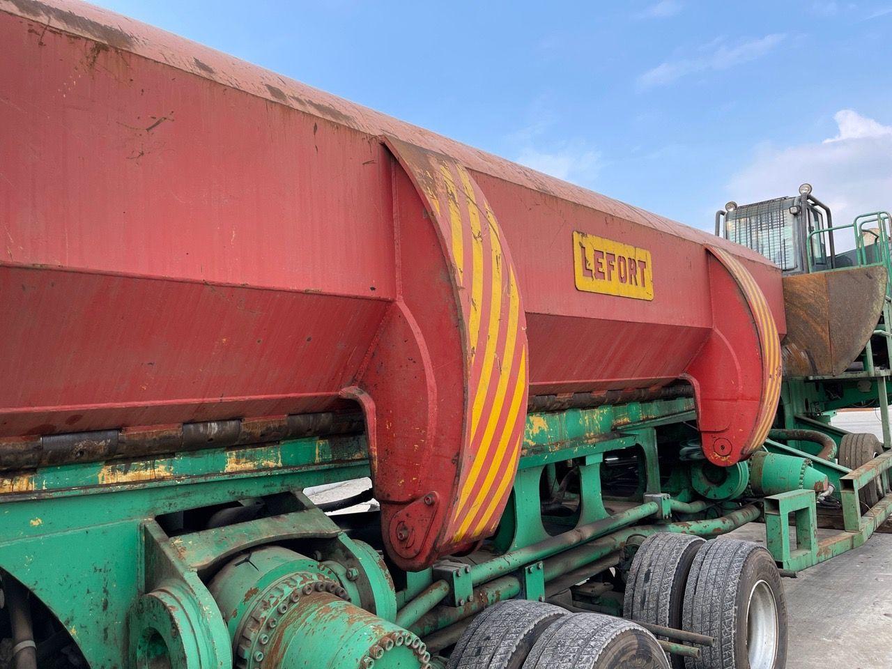 Lefort 1000 AS Mobile Scrap Shear Baler