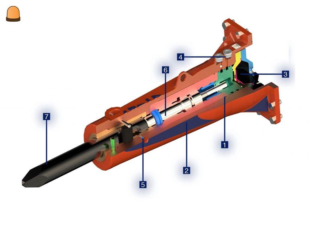 Sloophamer CW00/CW05, 0,7-2 ton (23383842)