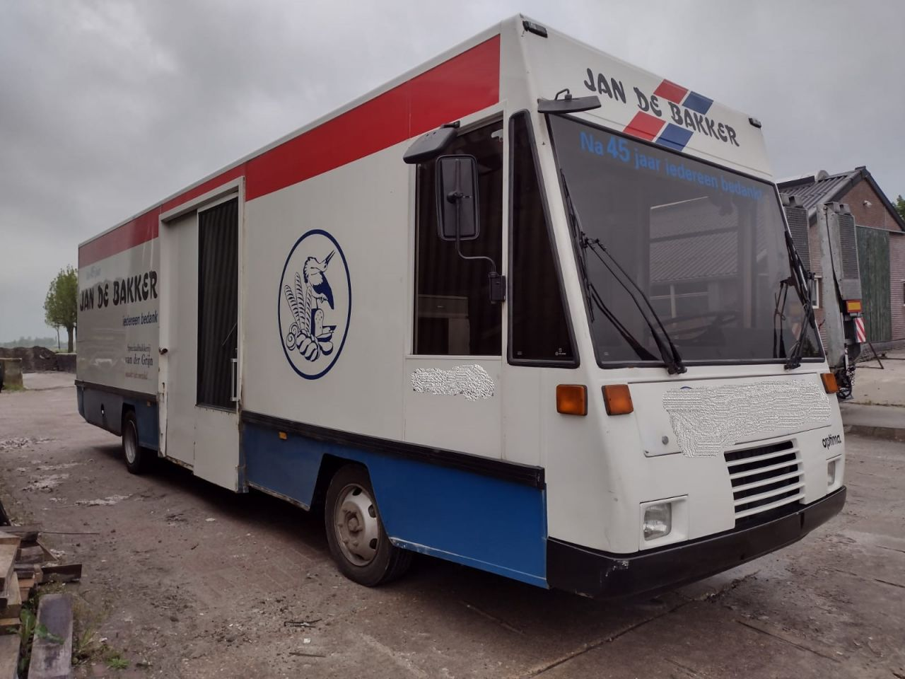 Rijdende winkel/SRV wagen Rijdende winkel/srv wagen MMBS