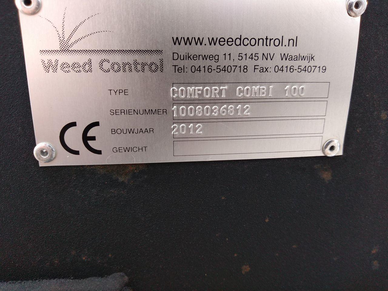 2x Weedcontrol Comfort combi 100, onkruidbrander