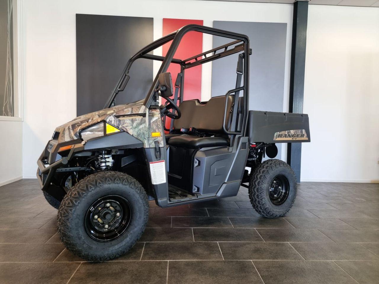 Polaris Ranger EV, Elektrisch, camo (L7e, Autokenteken)