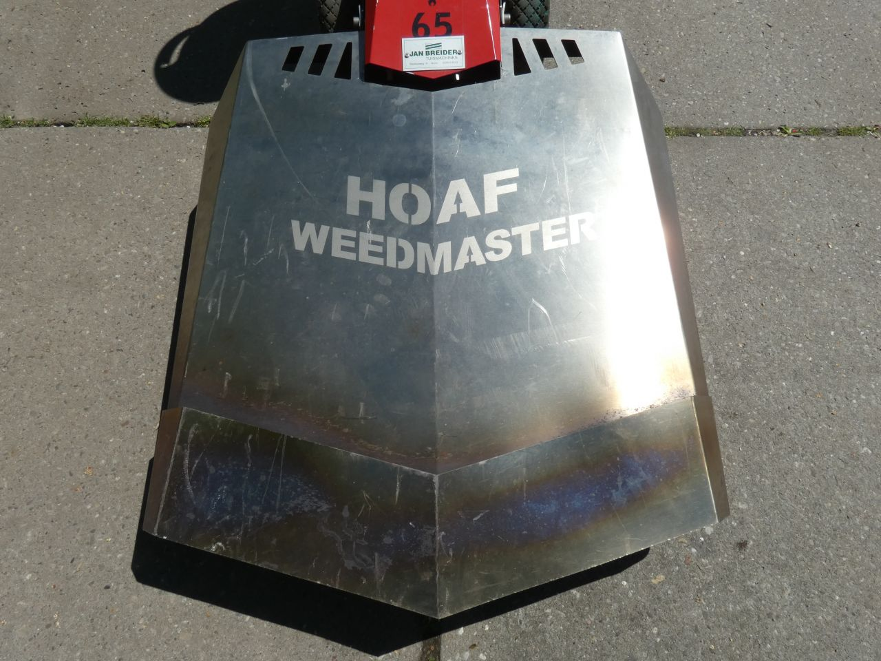 HOAF onkruidbrander (type Weedmaster 65, i.z.g.s.)