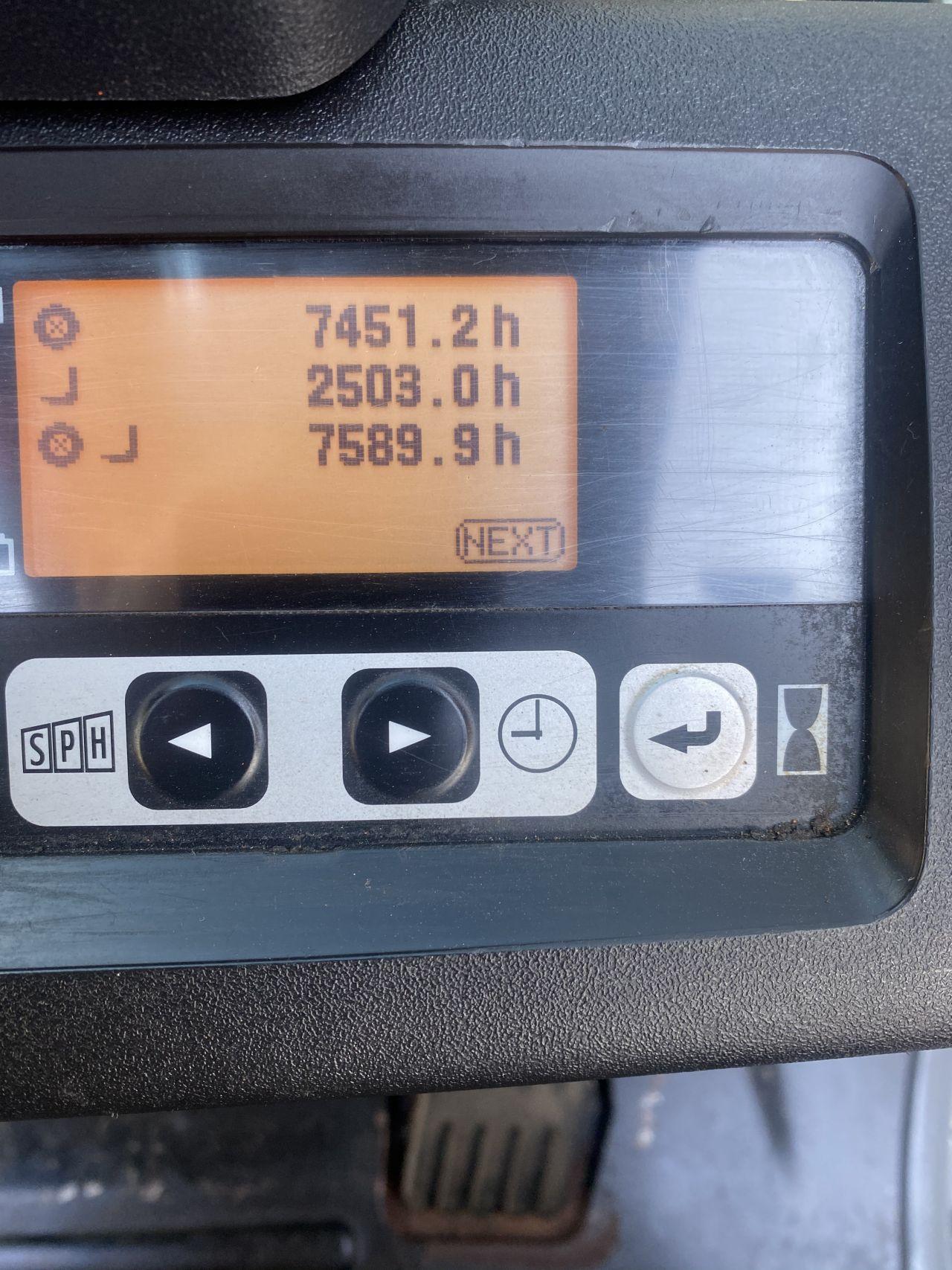 Toyota 8FBET18 2015 accu triplo 5,5mtr elektrische heftruck