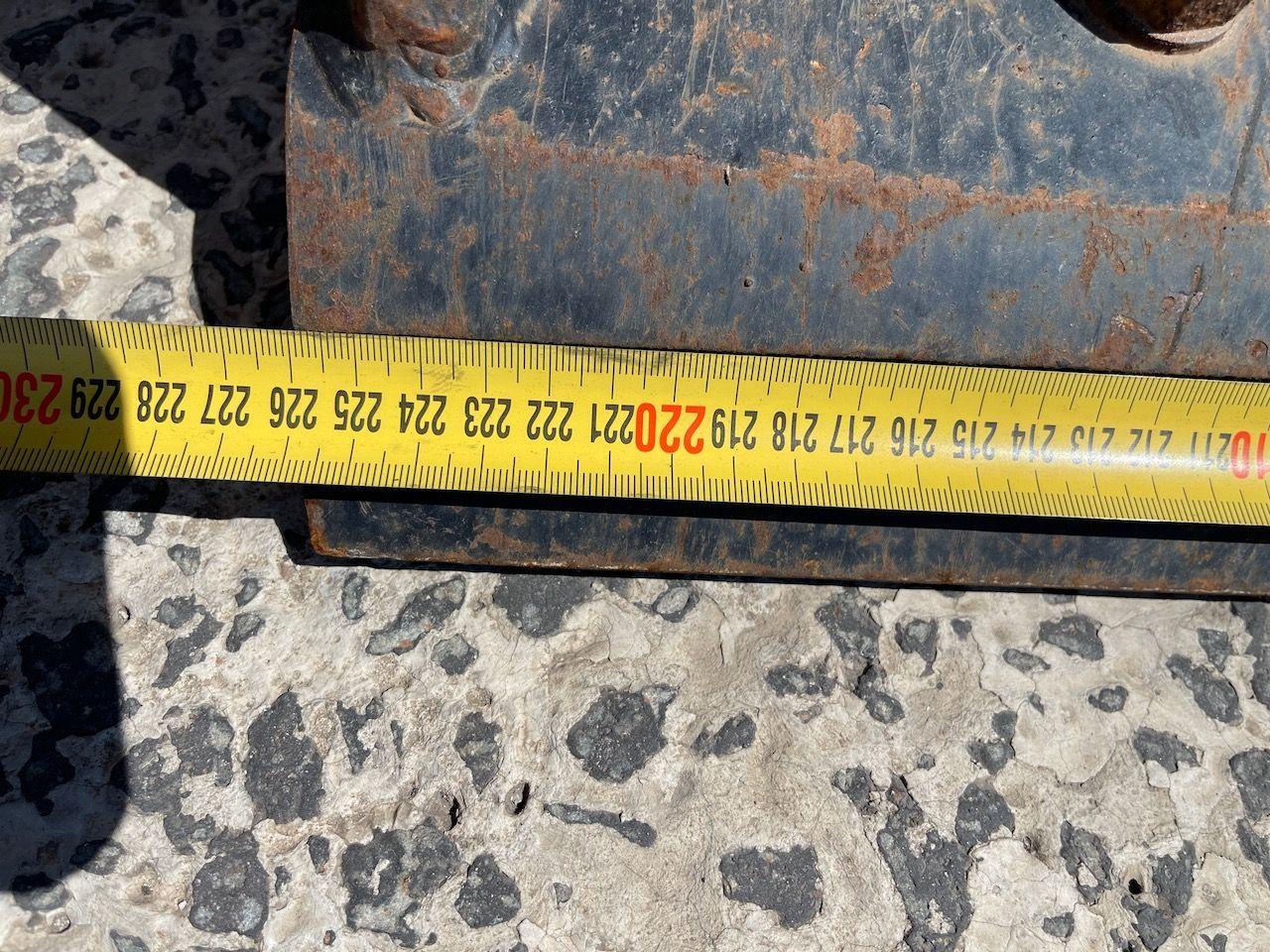 Hoogkiepbak met bovenklem 226cm