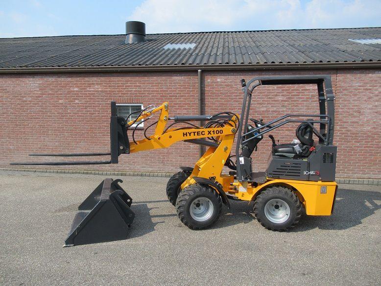 Mini shovel Nieuw  BJ 2021 De Hytec X 100