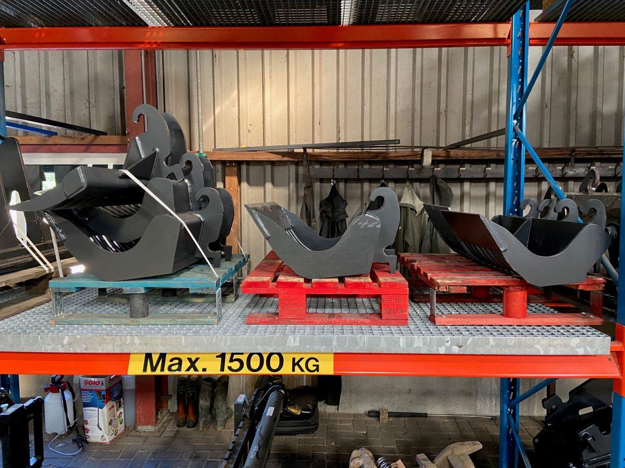 Gebruikte en nieuwe gaaf machine bakken cw00 - cw 05