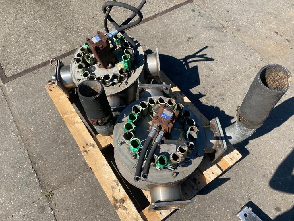 Snijverdelers inclusief hydromotor