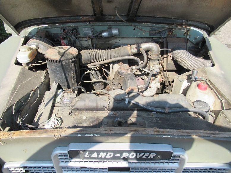 Land Rover 88 (Defender) Van het bouwjaar 1963