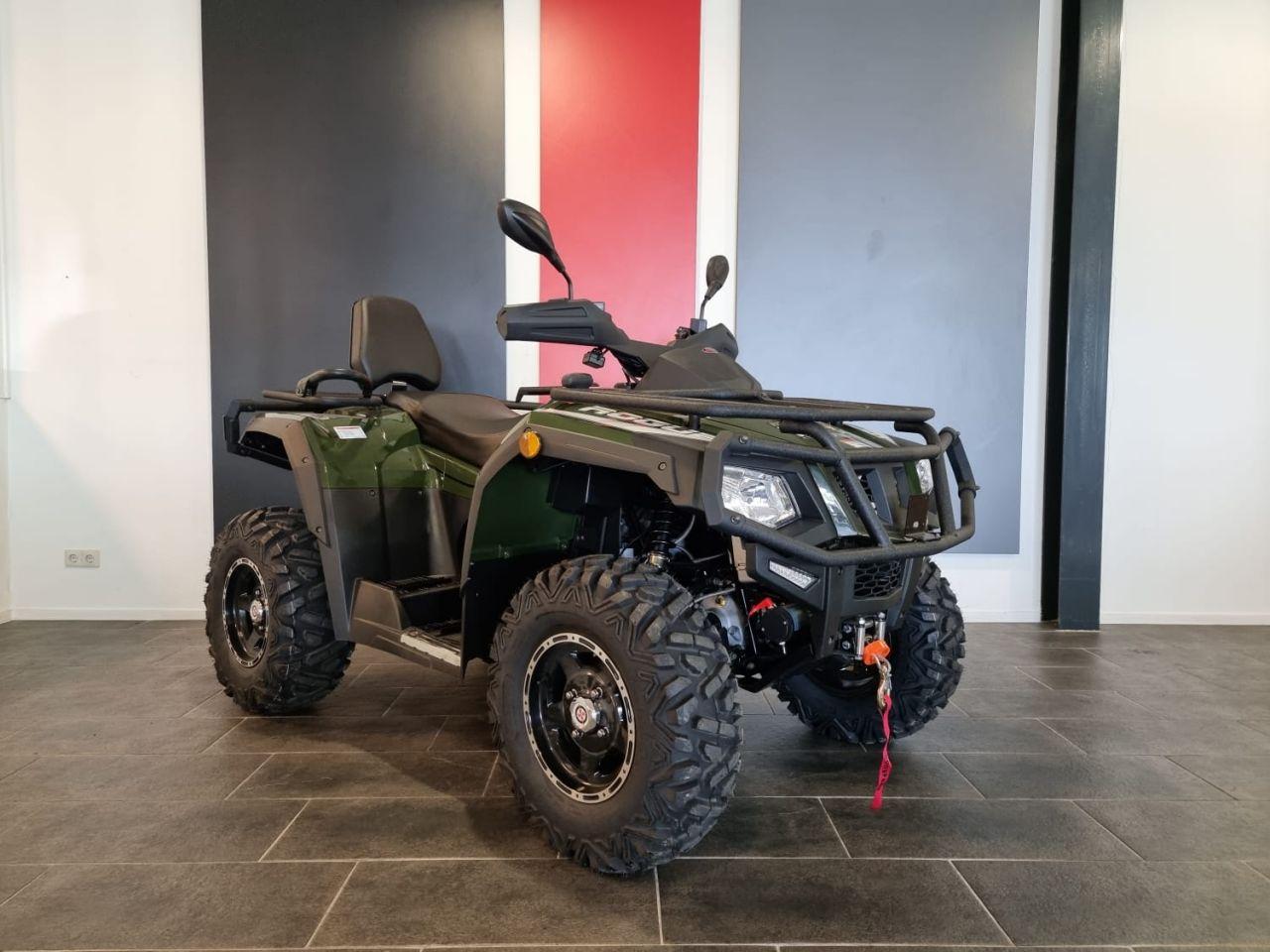 Rogue Terrawolf 550 IRS op L7e (autokenteken) of Tractor