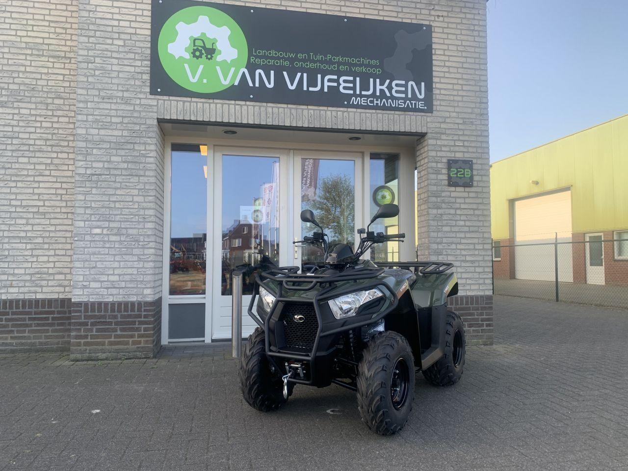 Kymco MXU300 T3B ATV quad