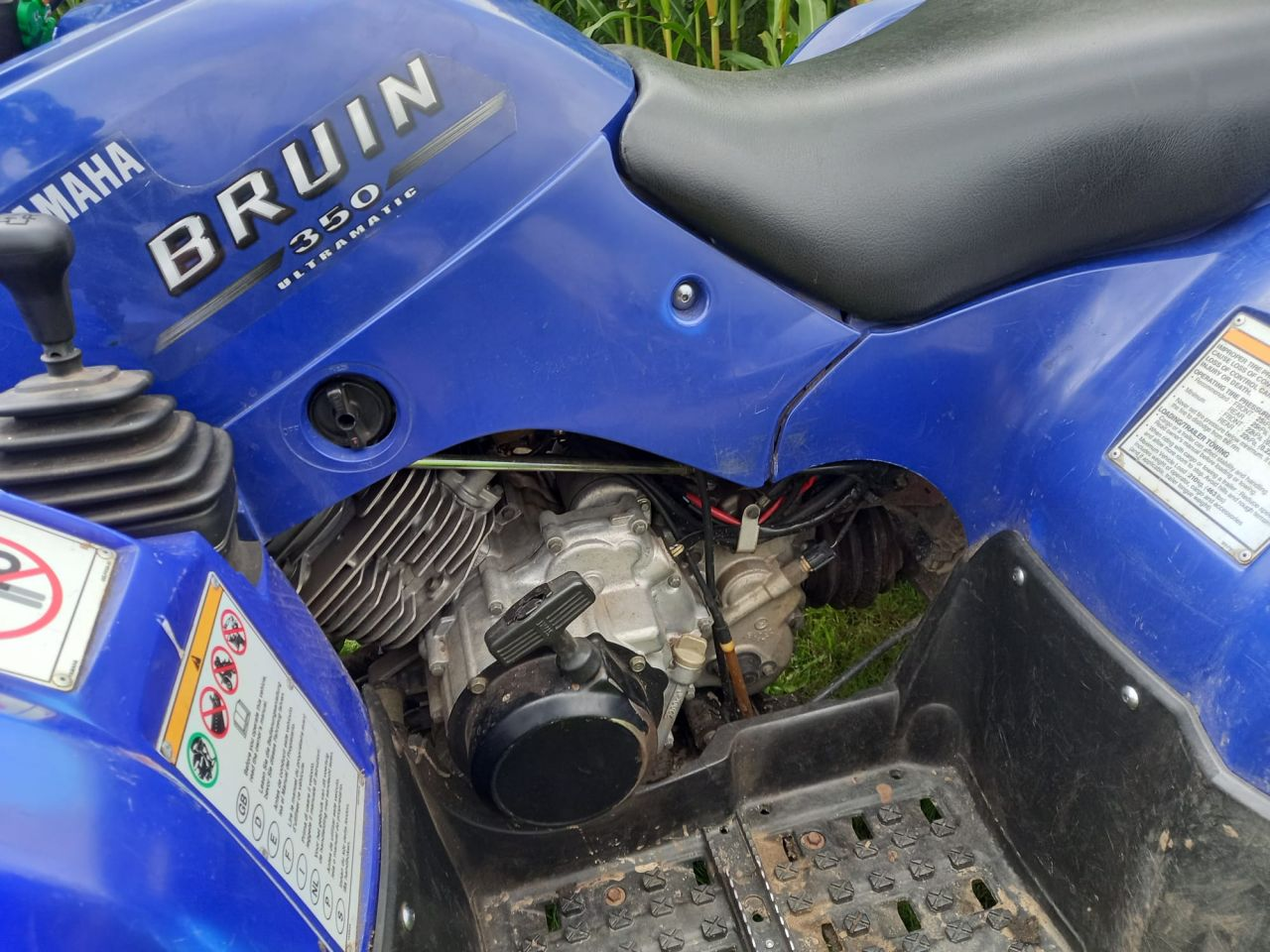 Yamaha grizzly Bruin 350