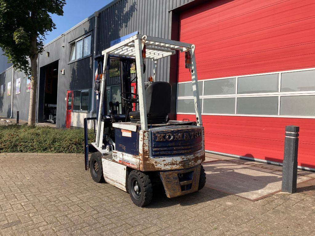 KOMATSU FB15-5 elektrische heftruck TRIPLO/FREELIFT/SIDESHIFT