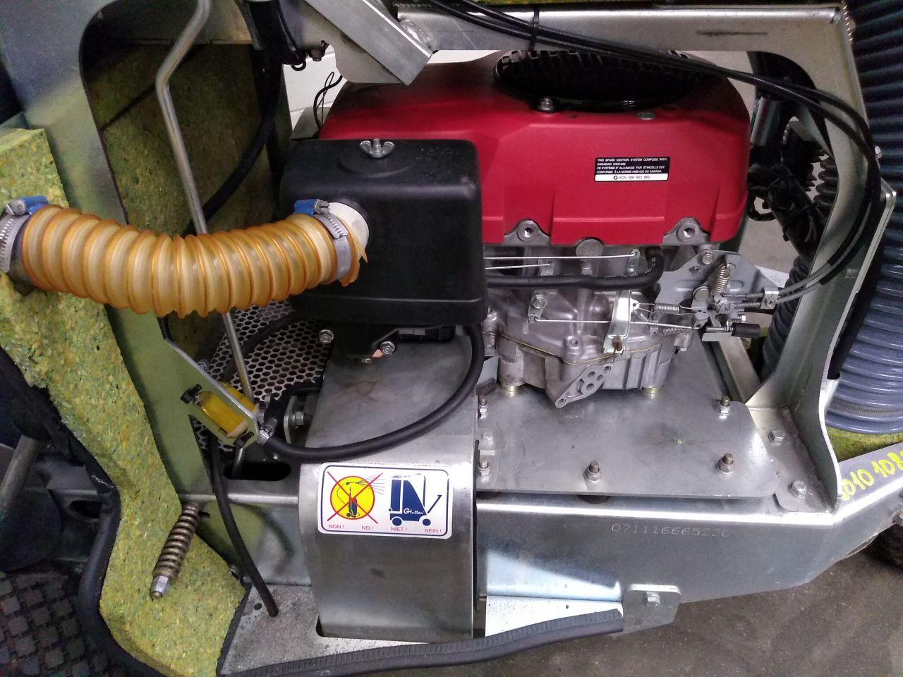 Zwerafvalzuiger Glutton Honda thermique