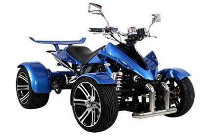 Kentekenquad 250cc quad