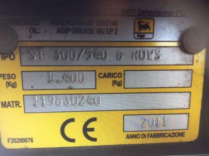 Gaspardo ST300/540 6 ROWS